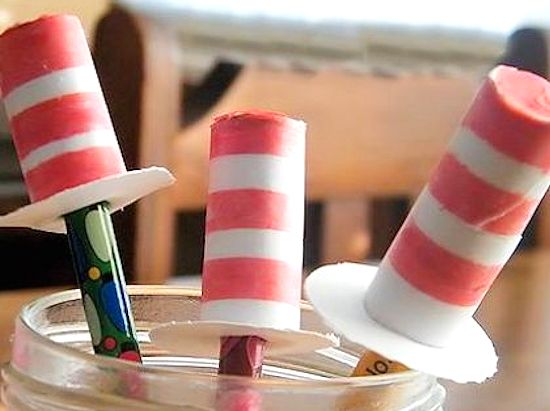 Dr. Seuss Cat in the Hat Pencil Toppers