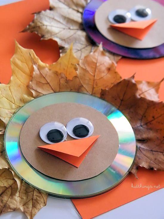 Fall Leaf Turkey Craft