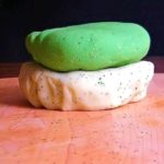 St. Patrick's Day Glitter Play Dough