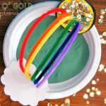 Pot O' Gold at the End of the Rainbow Craft
