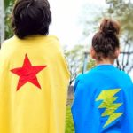 Every Kid is a Superhero – T-Shirt Cape Tutorial