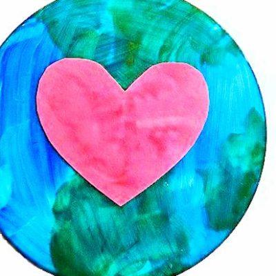 DIY CD Ornament Earth Day Craft