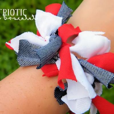 Patriotic Knot Bracelets