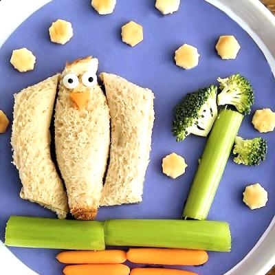 Bird in a Tree Sandwich Art