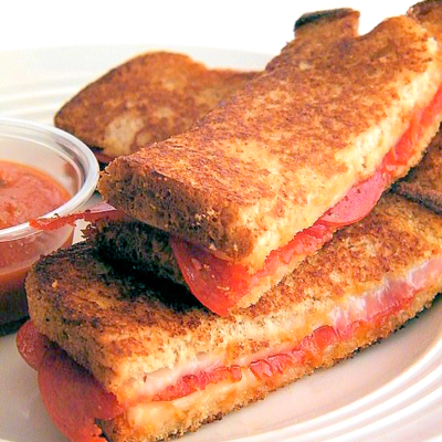 Pizza Grilled Cheese Dippers