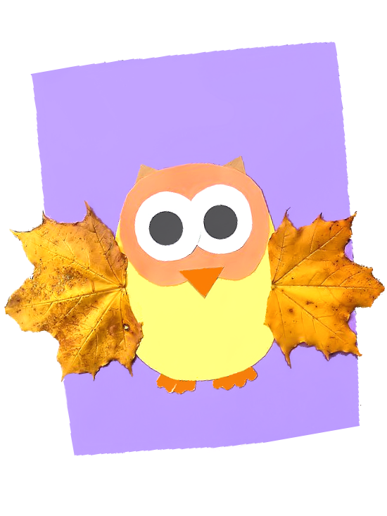 Fall Leaf Owl Craft Our Kid Things