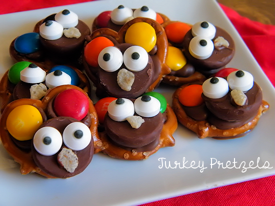 How to make Chocolate Turkey Pretzels