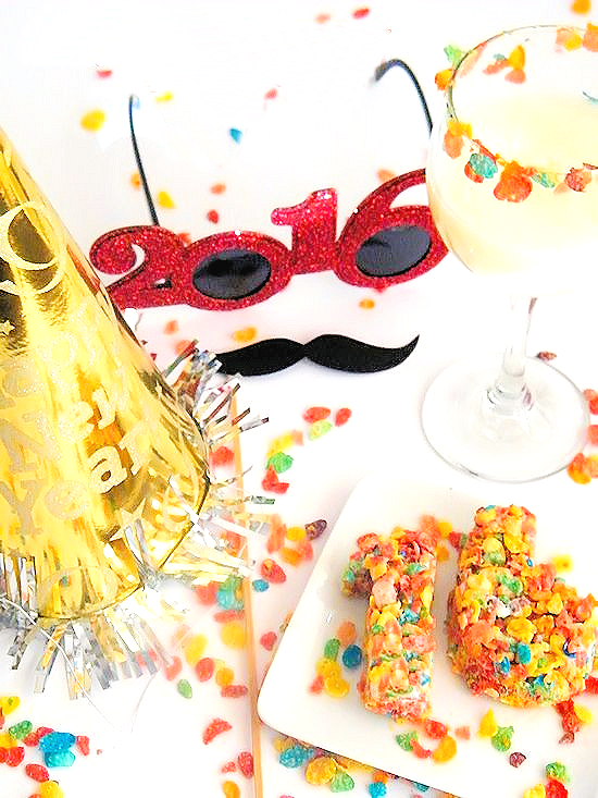A Kid-Friendly New Year with Fruity Pebbles #sponsored