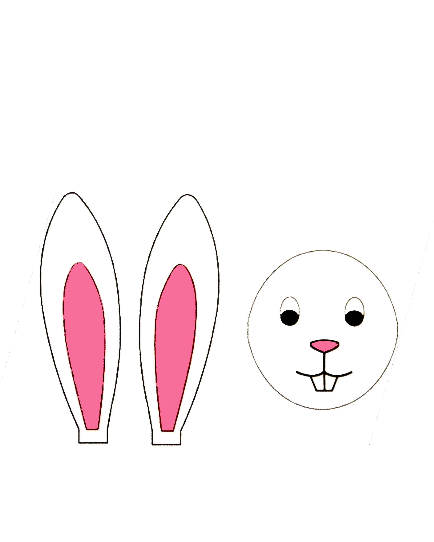 Как сделать нос для зайца
