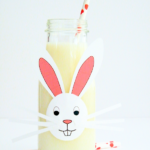DIY Milk Bottle Easter Bunnies