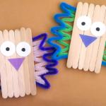 Craft Stick Bird Craft