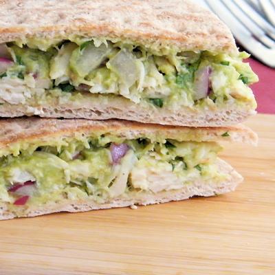 Guacamole Chicken Salad Sandwich