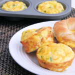 #ad Turkey and Asparagus Quiche Muffins