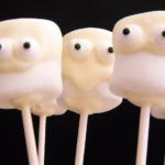Halloween Ghost Marshmallows