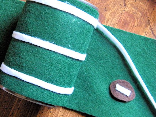 Felt Football Storage Cans for Game Day! #ScoreAtCVS (ad)