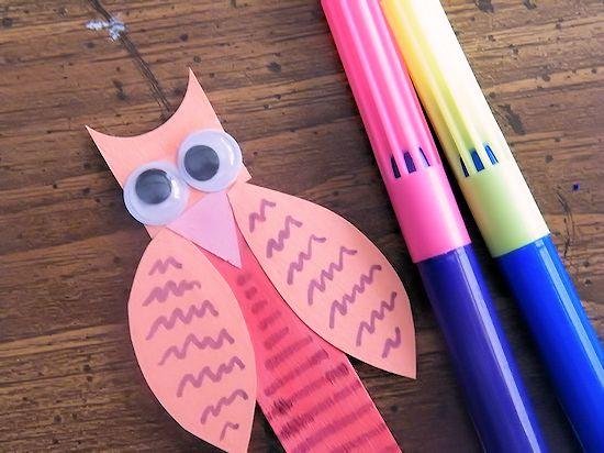 Craft Stick Owls Craft Kids Craft Fall Craft