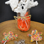 Cocoa Pebbles Ghosts Treats