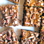Pumpkin Pecan Brownie Bars