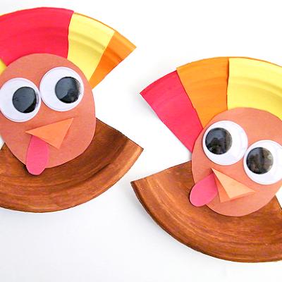 Paper Plate Turkeys