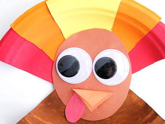 Paper Plate Turkeys Craft Thanksgiving Craft Fall Craft Kid Craft & Paper Plate Turkeys | Our Kid Things