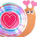 Valentine's Day CD Snail Craft