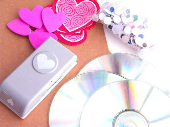 Valentine's Day CD Snail Craft Kids Craft