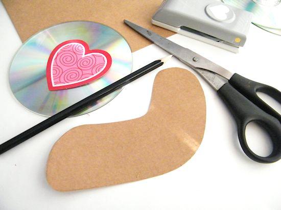 Valentine's Day CD Snail Craft Kids Craft