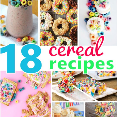 18 Yummy Cereal Recipes