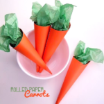 Rolled Paper Carrots