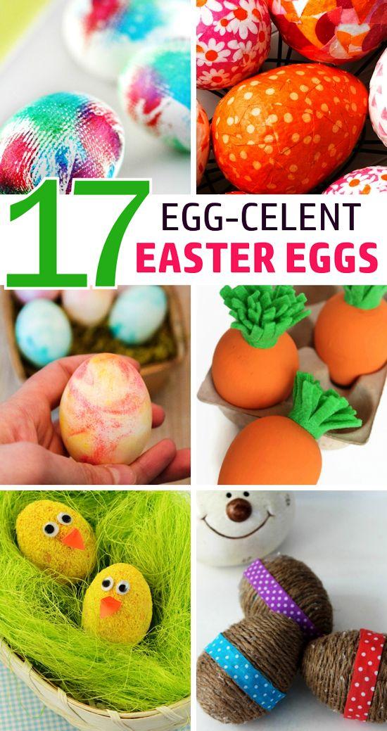 17 Egg-celent DIY Easter Eggs