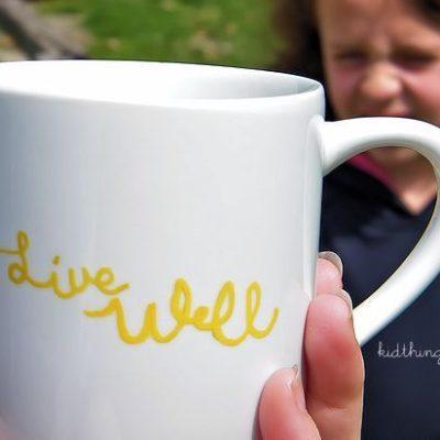 Live Well DIY Tea Mugs