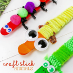 Craft Stick Animals