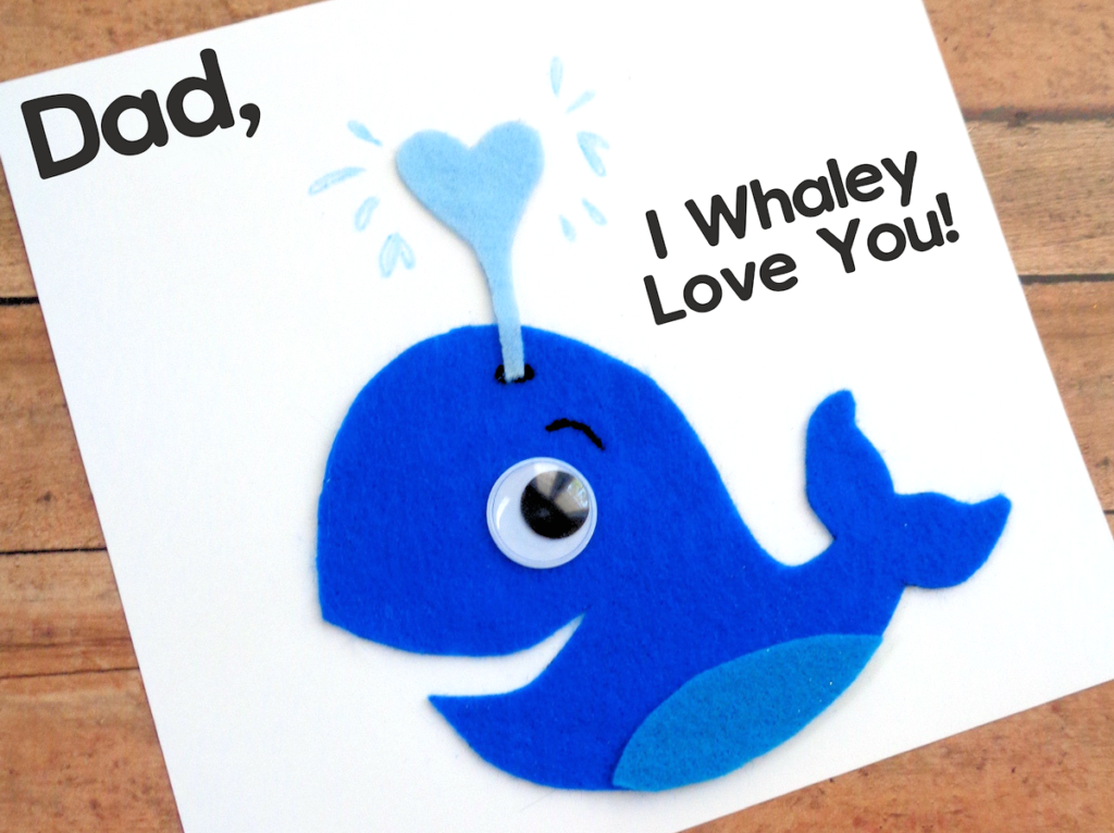 i whaley love you father u0026 39 s day card