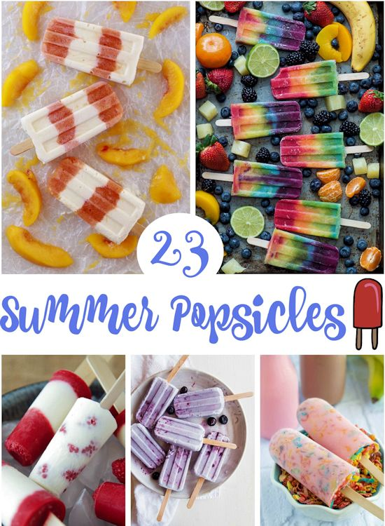 23 Summer Popsicles Recipes