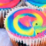 Unicorn Swirl Cupcakes