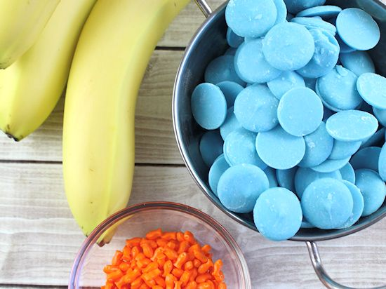 Under the Sea Chocolate Covered Bananas Recipe, Kids in the Kitchen, Kid Food, Summer Food