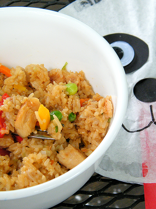 Skip Takeout with Ling Ling Fried Rice & Panda Craft #FriedRiceFriday #IC (ad)