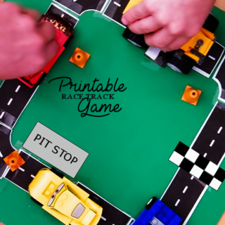 Free Printable Race Track Game