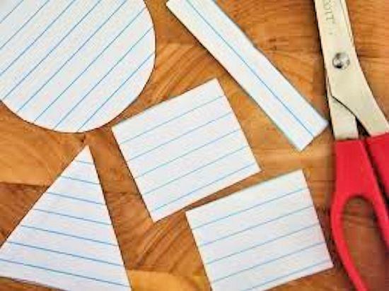 Shape of a Superhero Notebook Paper Craft, Back to School, School Supplies, Superhero Craft #teacherlists (ad)