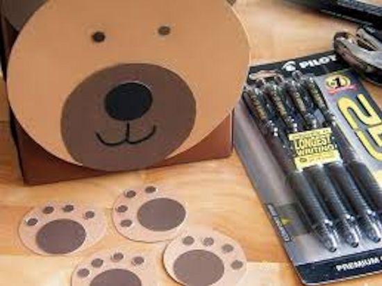 DIY Desk Cubby Kids Desk Organizer with #MyGo2Pen (ad)