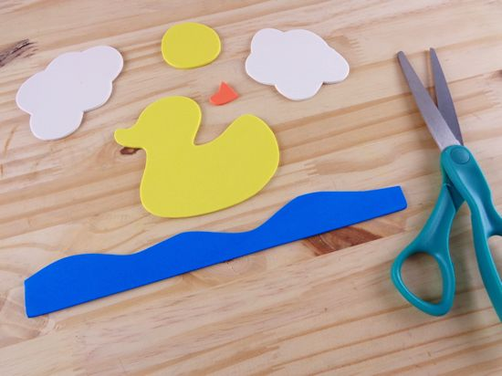 D is for Duck Letter D Craft Toddler Craft School Craft with Free Printables