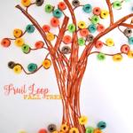Fruit Loop Fall Tree Craft