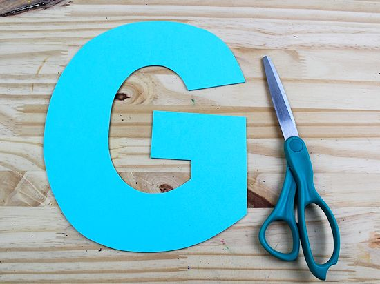 G is for Goat Letter G Craft, Preschool Toddler Craft