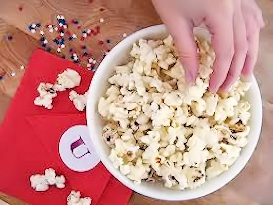 Captain's Cones Super Popcorn Mix Popcorn Recipe, After School Snack with Pop Secret, Lance Snacks, and Walmart #pmedia #Pop4Captain (ad)