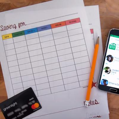Saving For… Kids Money Ledger Printable