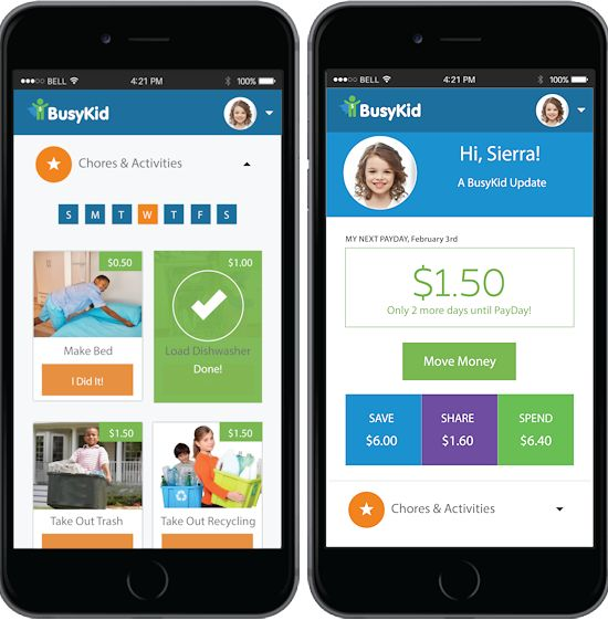 Tips to Help Kids Learn to Manage Money with BusyKid (ad)