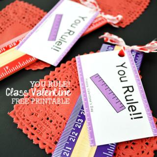 You Rule! Class Valentine