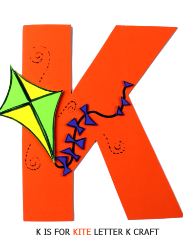 Things With Letter K.Kite Letter K Craft Our Kid Things