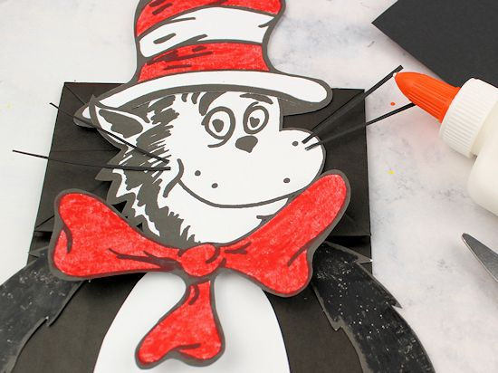 Cat In The Hat Paper Bag Puppet Our Kid Things
