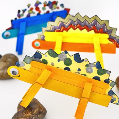 Stegosaurus Dinosaur Craft